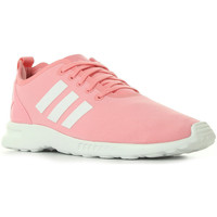 Schoenen Dames Sneakers adidas Originals ZX Flux Smooth W Roze