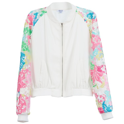 Textiel Dames Jacks / Blazers Brigitte Bardot BB44045 Wit / Multi