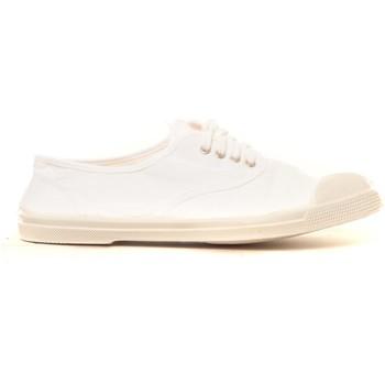 Schoenen Dames Sneakers Bensimon Tennis à lacets blanc Wit