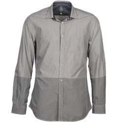 Textiel Heren Overhemden lange mouwen Diesel SAUSAN Grijs