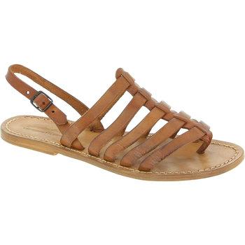Schoenen Dames Sandalen / Open schoenen Gianluca - L'artigiano Del Cuoio 576 D CUOIO CUOIO Cuoio