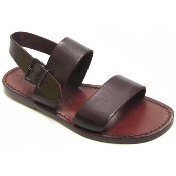 Schoenen Dames Sandalen / Open schoenen Gianluca - L'artigiano Del Cuoio 500 D MORO CUOIO Testa di Moro