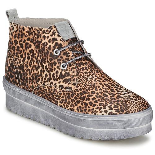 Schoenen Dames Hoge sneakers Ylati BAIA F Luipaard