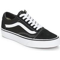 Schoenen Lage sneakers Vans OLD SKOOL Zwart / Wit