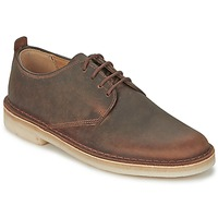 Schoenen Heren Derby Clarks DESERT LONDON Bruin