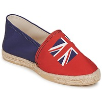 Schoenen Dames Espadrilles Be Only KATE Rood blauw