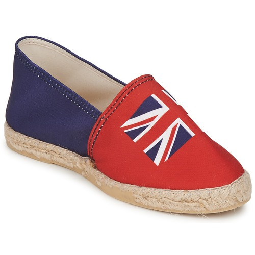 Schoenen Dames Espadrilles Be Only KATE Rood blauw