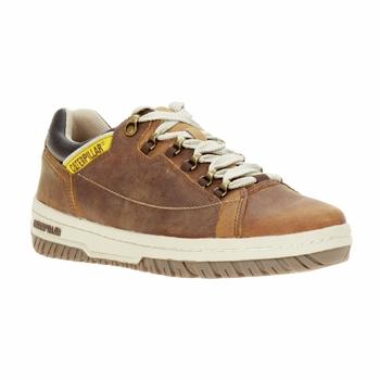Schoenen Heren Lage sneakers Caterpillar APA Bruin