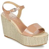 Schoenen Dames Sandalen / Open schoenen Unisa LITUAN Beige / Roze