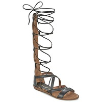 Schoenen Dames Sandalen / Open schoenen Unisa ANDA Zwart