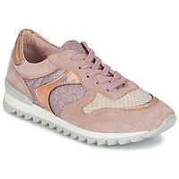 Schoenen Dames Lage sneakers Unisa DALTON Roze