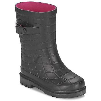 Schoenen Meisjes Regenlaarzen Be Only CROCO Zwart
