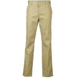 Textiel Heren Chino's Dickies SLIM FIT WORK PANT Beige