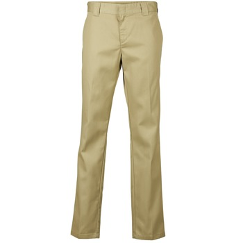 Textiel Heren 5 zakken broeken Dickies SLIM FIT WORK PANT Beige