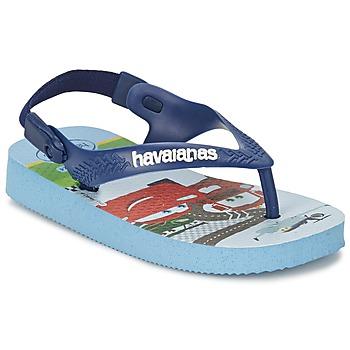Schoenen Meisjes Teenslippers Havaianas PIXAR Blauw lavendel / Blauw