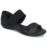 Schoenen Dames Sandalen / Open schoenen Camper RIGHT NINA Zwart