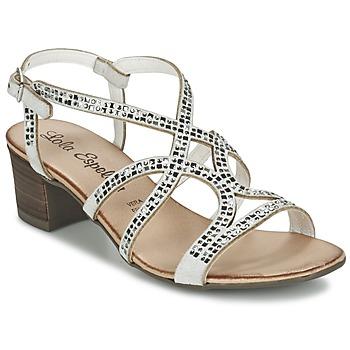 Schoenen Dames Sandalen / Open schoenen Lola Espeleta GRILLION Wit