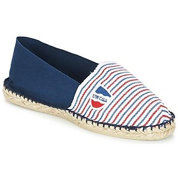 Schoenen Espadrilles 1789 Cala CLASSIQUE BICOLORE Blauw / Wit / Rood
