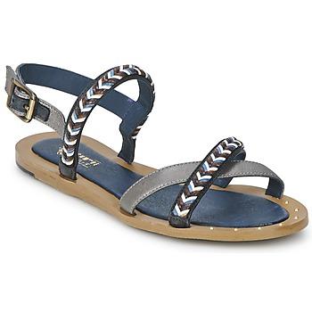 Schoenen Dames Sandalen / Open schoenen Schmoove MEMORY LINK Zilver / Marine