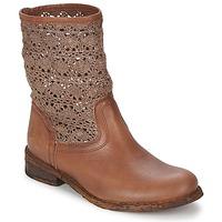 Schoenen Dames Laarzen Felmini GREDO Chocolat