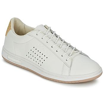 Schoenen Lage sneakers Le Coq Sportif ARTHUR ASHE RAFFIA Creme