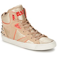 Schoenen Dames Hoge sneakers Ash SPIRIT Beige / Roze