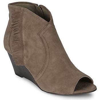 Schoenen Dames Low boots Ash DRUM Taupe