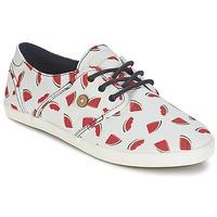 Schoenen Dames Lage sneakers Faguo CYPRESS Wit / Rood