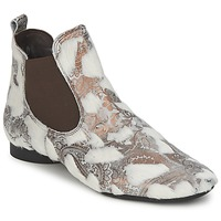 Schoenen Dames Laarzen Think ASSAM Beige