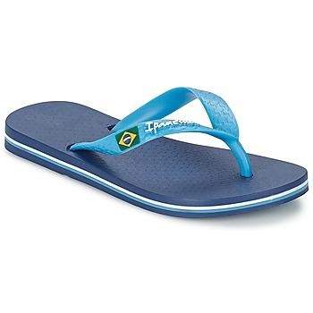 Schoenen Jongens Teenslippers Ipanema CLASSICA BRASIL II Blauw