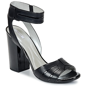 Schoenen Dames Sandalen / Open schoenen Geox NOLINA Zwart