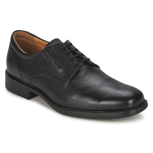 Chaussures Geox Noir Pour Federico Hommes hdXvsNI