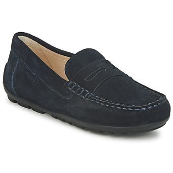 Schoenen Jongens Mocassins Geox FAST Blauw