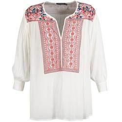 Textiel Dames Tops / Blousjes Antik Batik CAREYES Wit