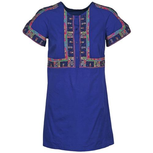 Textiel Dames Korte jurken Antik Batik EMILIE Marine