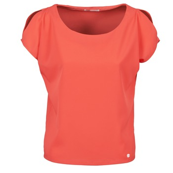 Textiel Dames T-shirts korte mouwen Les P'tites Bombes S145003 Rood
