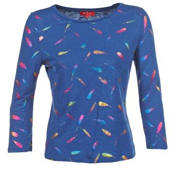 Textiel Dames T-shirts met lange mouwen Derhy GALOPIN Marine