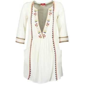 Textiel Dames Korte jurken Derhy EMBOUCHURE Ecru