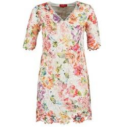 Textiel Dames Korte jurken Derhy EBULLITION Ecru