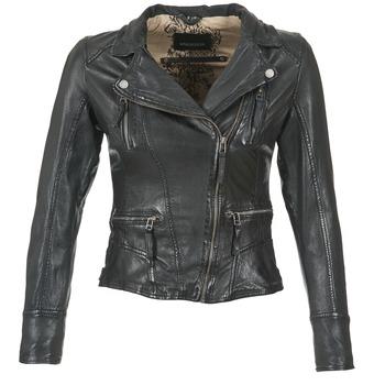 Textiel Dames Leren jas / kunstleren jas Oakwood 60861 Zwart