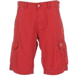 Textiel Heren Korte broeken / Bermuda's Napapijri PORTES A Rood