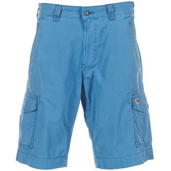 Textiel Heren Korte broeken / Bermuda's Napapijri PORTES A Blauw