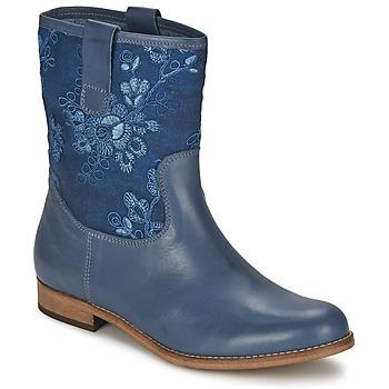 Schoenen Dames Laarzen Alba Moda FALINA Blauw