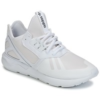 Schoenen Lage sneakers adidas Originals TUBULAR RUNNER Wit