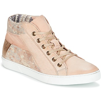 Schoenen Dames Hoge sneakers Dream in Green MOLIMELA Beige / Roze