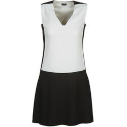 Textiel Dames Korte jurken Joseph DORIA Zwart / Wit