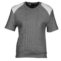 Textiel Dames Sweaters / Sweatshirts Joseph RD NK SS Grijs / Gevlekt / Wit