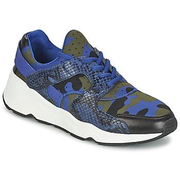 Schoenen Dames Lage sneakers Ash MATRIX Blauw / Camouflage