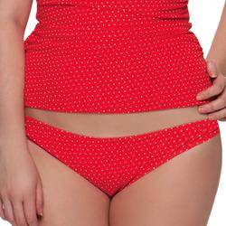 Textiel Dames Bikinibroekjes- en tops Curvy Kate CS2705 FLAME SPOT Rood
