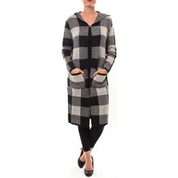 Textiel Dames Vesten / Cardigans De Fil En Aiguille Cardigan long K100 beige Beige